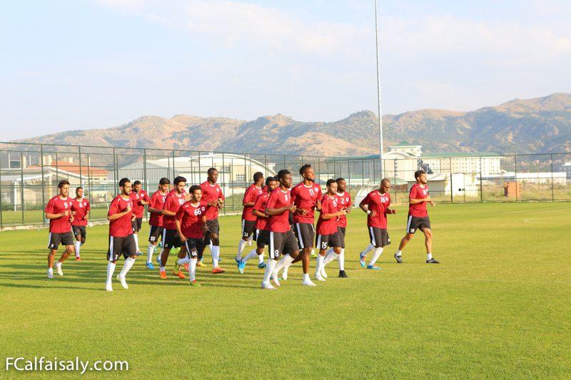فريق الفيصلي الأول لكرة القدم يواصل التدريبات اليومية ( تقرير مصور )