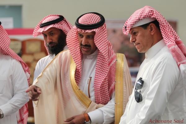 رئيس مجلس الإدارة يحضر حفل أفتتاح سوق عكاظ