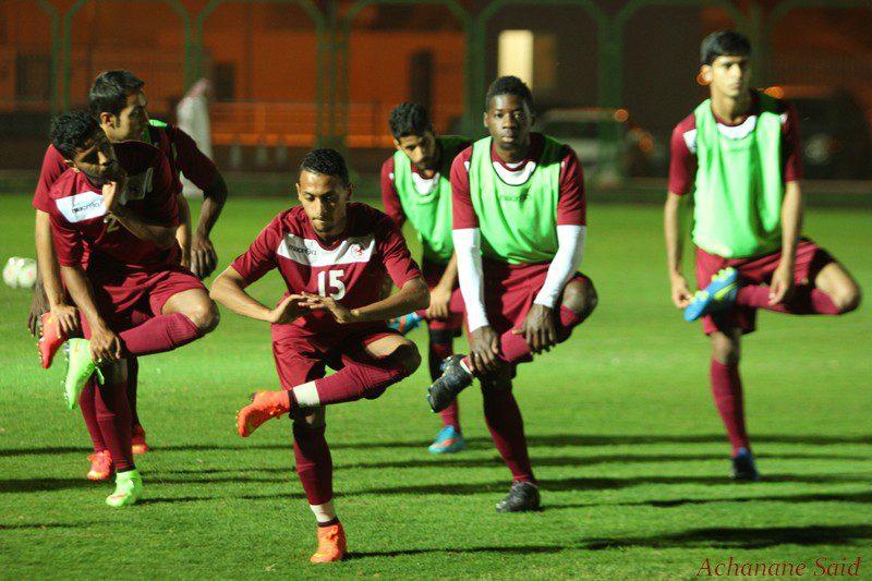 الفريق الأول لكرة القدم يواصل تدريباته الأعتيادية ( تقرير مصور )