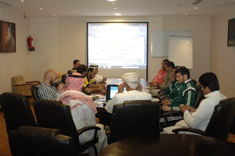 الأجتماع الفني لمباراة الفيصلي والجهراء الكويتي ( تقرير مصور )