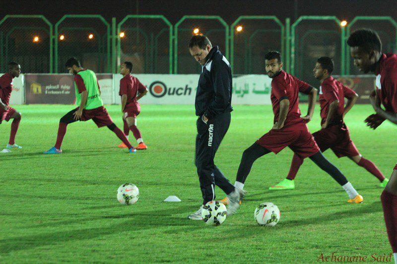 فريق الفيصلي الأول لكرة القدم يواصل التدريبات على فترتين ( تقريز مصور )