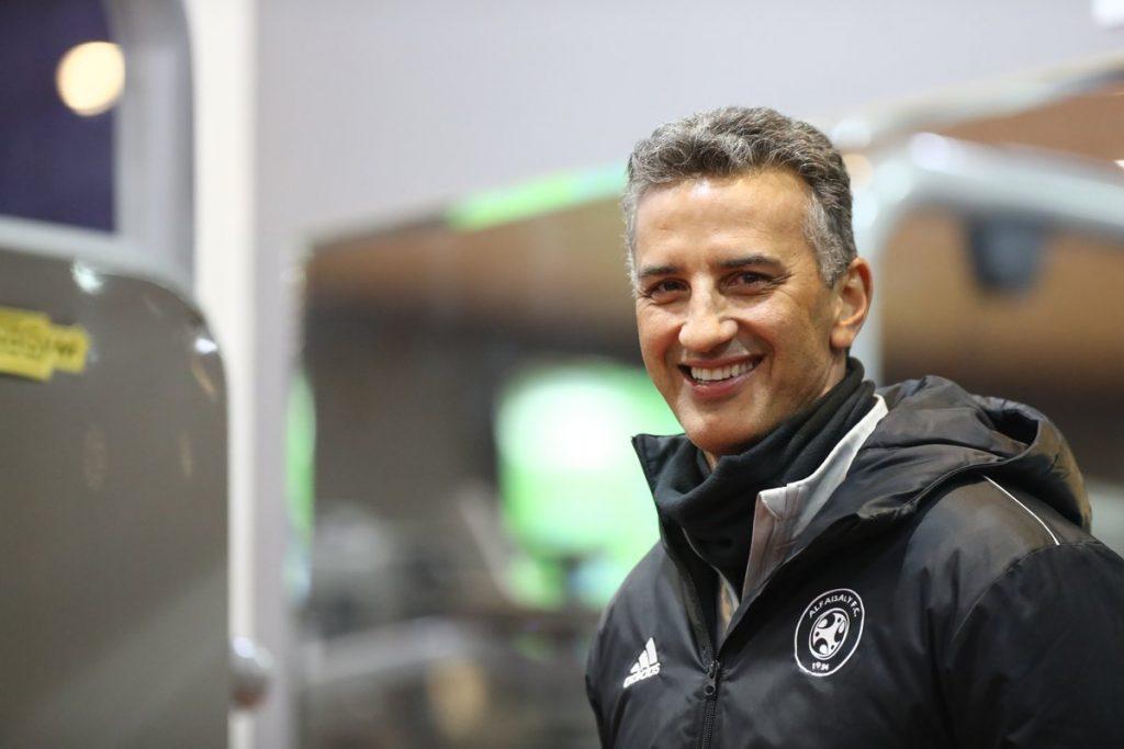 الفريق الأول يعاود تدريباته في مقر النادي بمدينة حرمة