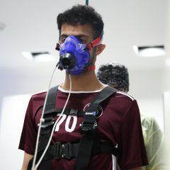 لاعبو الفريق الاول لكرة القدم يخضعون للعديد من الفحوصات الطبية