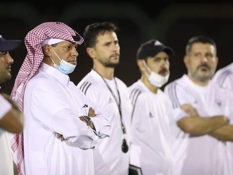 الفريق الاول لكرة القدم يستأنف تحضيراته للموسم المقبل .