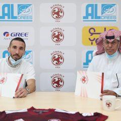 إدارة النادي تنهي إجراءات التوقيع مع اللاعب الفرنسي رومان امالفيتانو