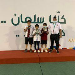 فريق التنس الارضي لفئة 10 سنوات يتأهل لنهائيات المملكة المميزين