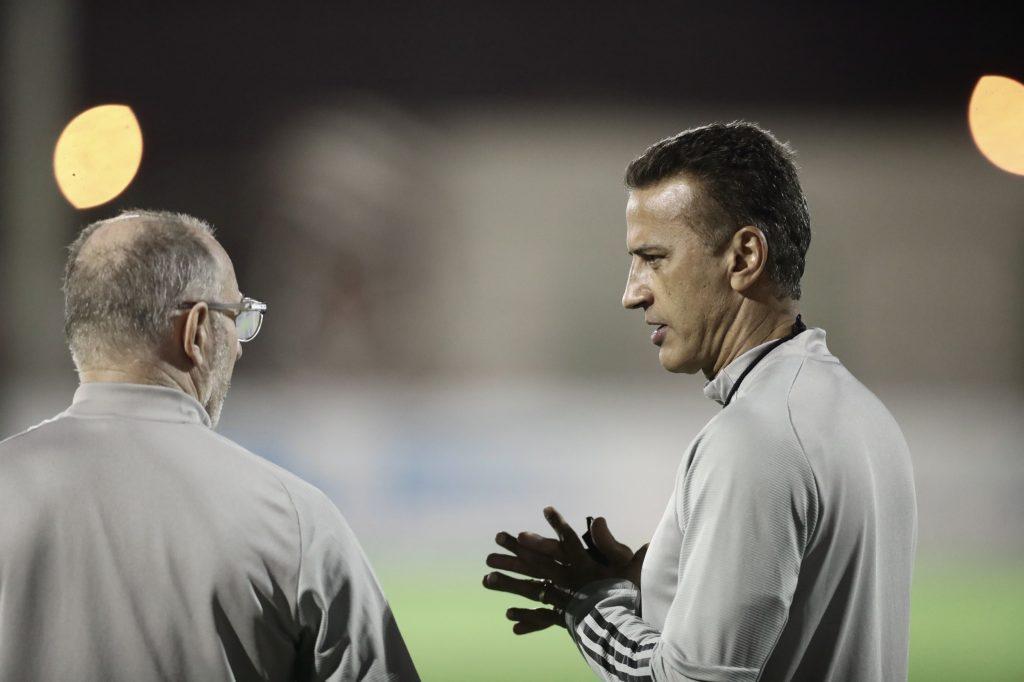 الفريق الاول لكرة القدم يواصل تحضيراته لمواجهة الاتحاد