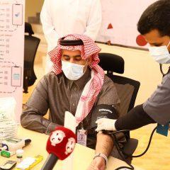 الفيصلي يشارك في مبادرة اعرف ارقامك بالتعاون مع مركز صحي حرمة