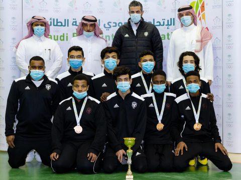 فريق الريشة الطائرة يختتم مشاركته في بطولة دوري المنطقة الوسطى  #الفيصلي