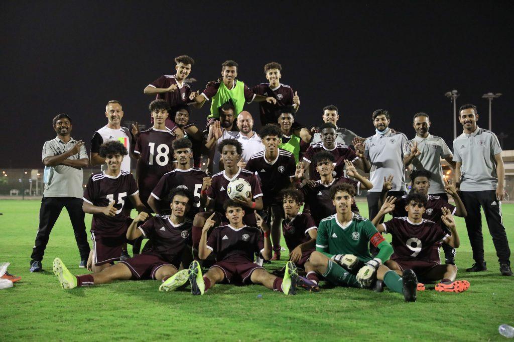 الفيصلي تحت 17 سنة يختتم الموسم الرياضي بثلاثية في مرمى جدة
