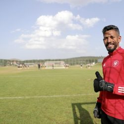 الفريق الاول لكرة القدم يواصل تحضيراته لوديته الرابعة في معسكره الاعدادي