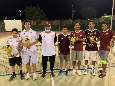 فريق التنس الارضي يحقق نتائج مميزة ويتأهل للمشاركة في نهائيات المملكة . #الفيصلي
