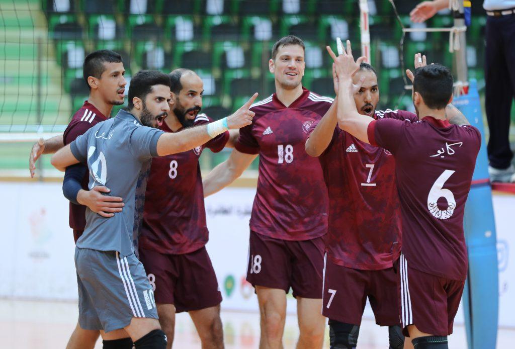 الفريق الاول لكرة الطائرة يكسب لقاء النصر