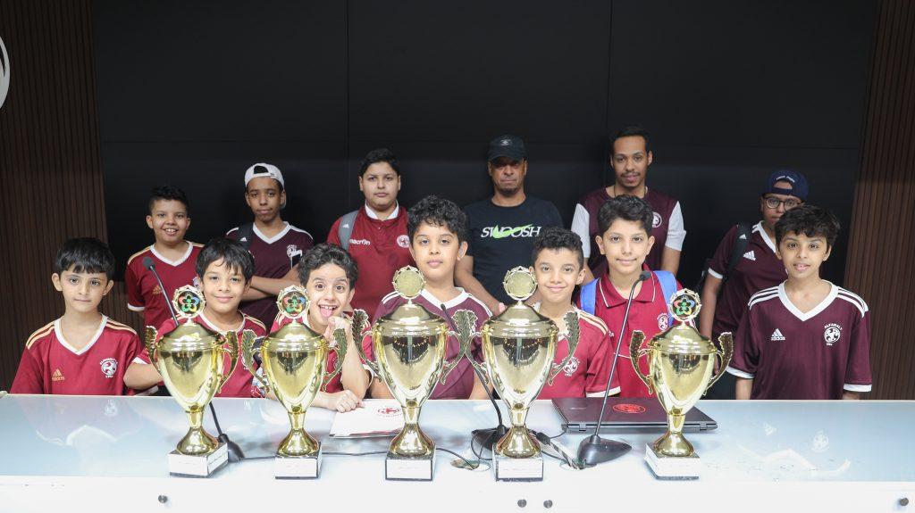 فريق تنس الطاولة يحقق نتائج مميزة في بطولة مكتب وزارة الرياضة بمحافظة المجمعة