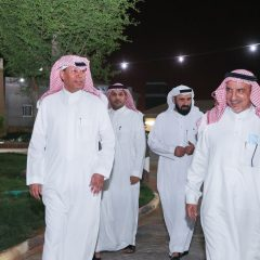 رئيس مجلس الإدارة وعدد من منسوبي النادي في ضيافة المهندس طارق الحيدري